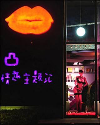 सेक्स से जुड़ा सामान बेचने वाली दुकान