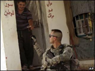 جندي امريكي في العراق