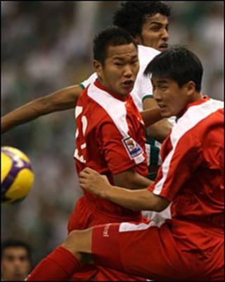 उत्तर कोरिया के खिलाड़ी