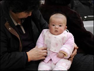 Bebê chinês (arquivo)