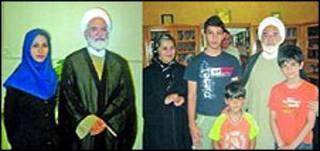 دیدار کروبی با اعضای خانواده ای زیدآبادی و مومنی