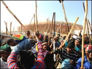 Mgomo wa wafanyakazi nchini Afrika Kusini