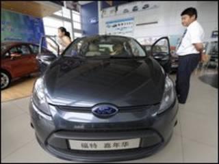 سيارة في الصين