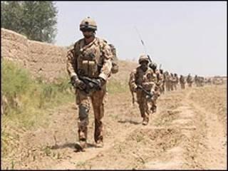 قوات بر يطانية في أفغانستان