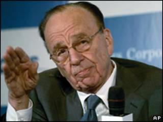 Rupert Murdoch, propietario de News Corp.