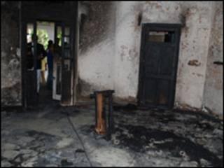 रीता जोशी का जला हुआ मकान