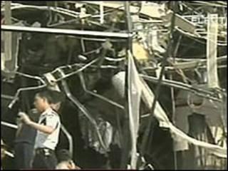 Explosão no Ritz Carlton