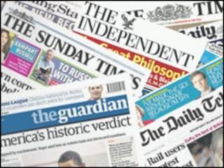 İngiliz gazeteleri