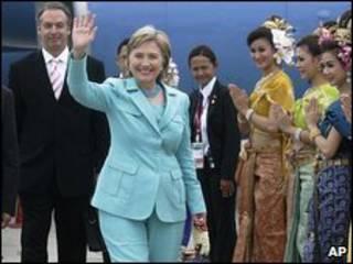 Ngoại trưởng Hillary Clinton tại hội nghị ARF ở Phuket