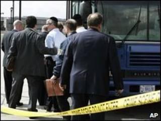 Detidos em Newark, Nova Jersey