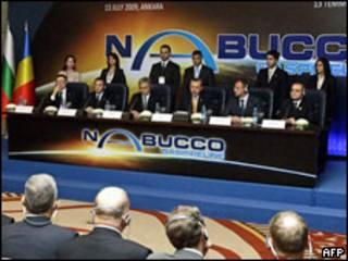 Підписання проекту Набукко влітку 2009 року