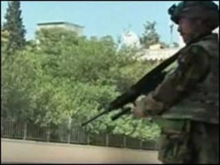 سرباز افغان در خوست