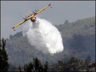 Clima quente e seco agrava o perigo de incêndios na região