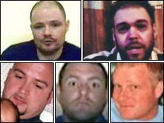 Reféns britânicos capturados no Iraque em maio de 2007 (arquivo)