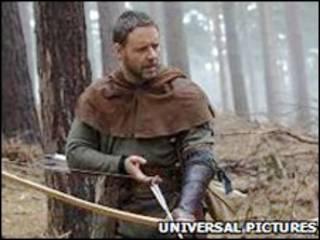 Russel Crowe em imagem do novo filme 'Robin Hood'