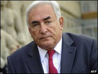 O diretor-gerente do FMI, Dominique Strauss-Kahn (AFP, 6/7)