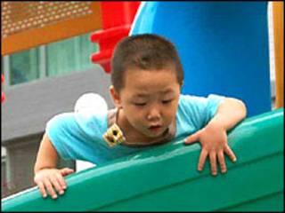 طفل من الصين