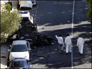 انفجار بمب در مایورکا