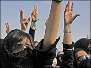 Protestos em Tehrã