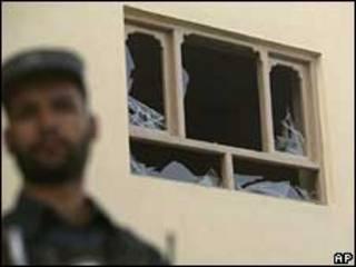 خسارات ناشی از حملات راکتی به کابل