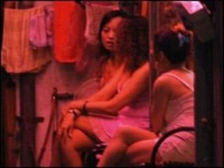 Prostitutas na China (arquivo)