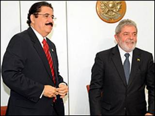 Manuel Zelaya e Luiz Inácio Lula da Silva