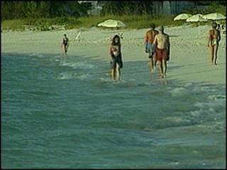 Playas en Turcas y Caicos