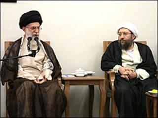 عکس از وبسایت دفتر رهبری ایران