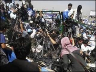 پوشش خبری سخنرانی عبدالله عبدالله در روز 17 اوت