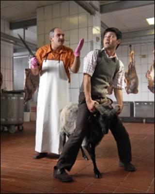 صحنه ای از فیلم سالامی علیکوم