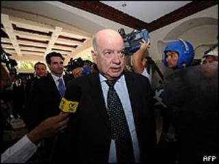 O secretário-geral da OEA, José Miguel Insulza