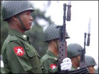 جنود بورميون