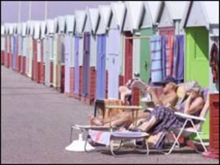 海滩度假小屋