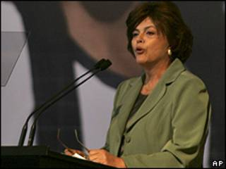 A ministra-chefe da Casa Civil, Dilma Rousseff