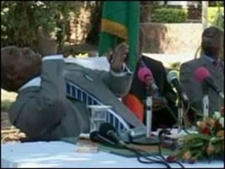 Shugabankasar Zambia Rupiah Banda