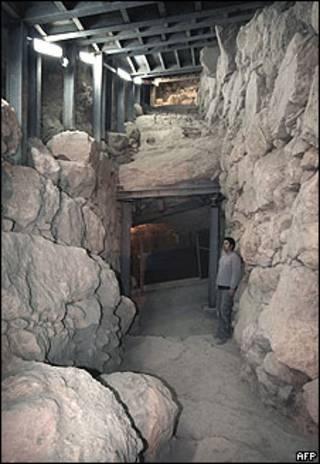 Muro descoberto em Jerusalém Oriental