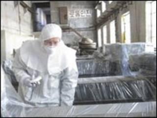 مفاعل  كوري شمالي