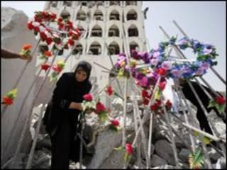 وزارتخانه بمبگذاری شده عراقی