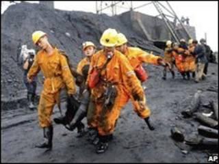 انفجار در معدن زغال سنگ در چین_آرشیو