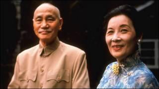 Thống chế Tưởng Giới Thạch và Phu nhân Tống Mỹ Linh hồi năm 1964-ảnh tư liệu của AP