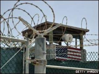 Centro de detenção americano da Baía de Guantánamo, em Cuba (foto de arquivo)