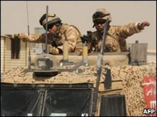 سربازان ناتو در افغانستان
