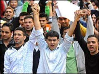 भारतीय छात्र प्रदर्शन