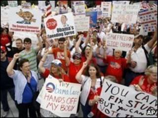 Manifestação em Washington