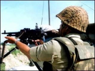 भारत प्रशासित कश्मीर में सेना
