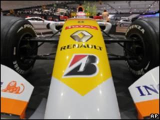Auto de F1 de Renault
