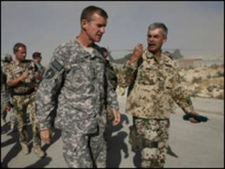 قائد القوات الأمريكية في أفغانستان، الجنرال ستانلي ماكريتسال