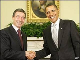أوباما وراسموسين