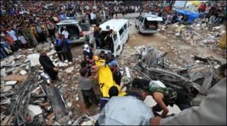 Động đất ở Padang, Tây Sumatra