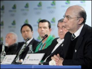 Delegação brasileira em Copenhague